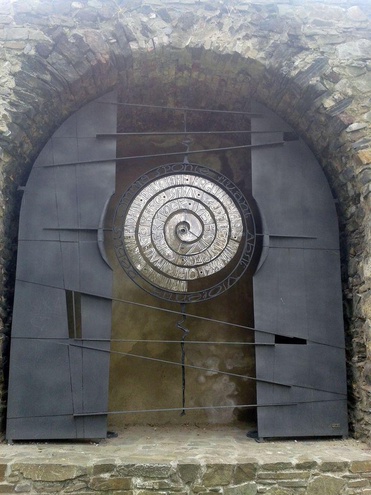 The open door, Jurda and son, Metal in town, Lipník nad Bečvou, Czech republic