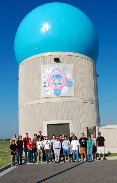 Phased Array Weather Radar in Norman, Oklahoma