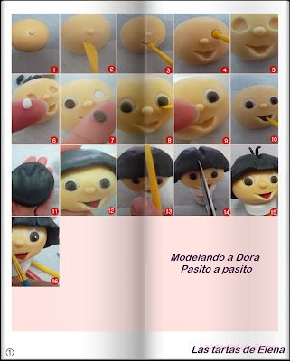 Cake Decorating Classes El Paso Tx : El mundo de las Tartas Fondant: Paso a paso: Modelar a ...