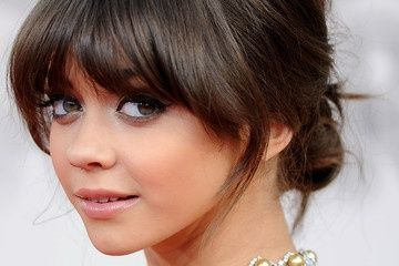 haircuts with bangs gallery 63 best bangs images on braids hairdos and 4385
