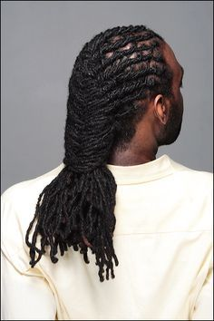 Hair Style Locs Men, Dreadlocks Style For Men, Locs Style, Dreadlocks Men Style, Men Dreadlocks, Braided Dreads Men Hairstyles, Men Locs, Locs Hairstyles ...