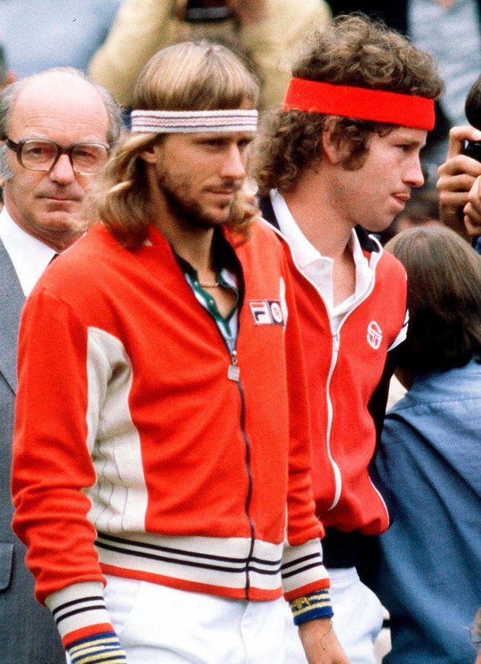 BjornBorg & John McEnroe #legend #tennis