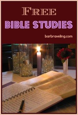 Free Bible Studies for women, small groups, and Sunday school classes
