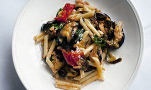 Nigel Slater's baked aubergine pasta recipe | Life and style | The Guardian