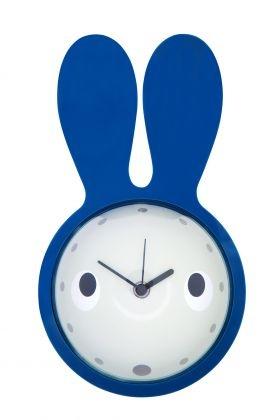 Bunny Clock from Aero Designs    #easter #easterbunny #blue #clock #easterears #insteadofchocolate #ilovebunnies