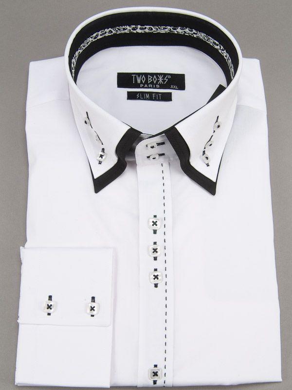 2096 T&B Shirt-White