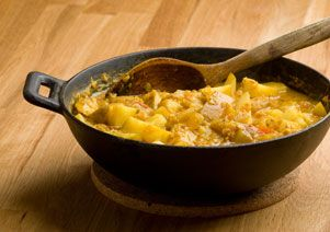 Gelbes Bohnen-Kokos Curry Rezepte