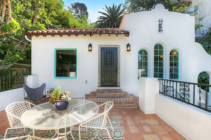 Spanish Revival Los Feliz Franklin Hills Mexican Tile