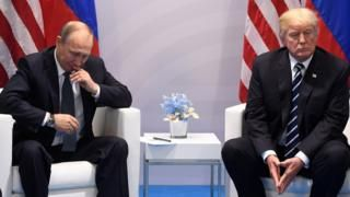 Russia sanctions: Trump's hand forced by Senate vote - BBC News