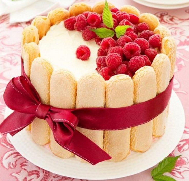 Te presentamos una deliciosa receta, torta Charlotte, para que acompañes tu infusión de la tarde.