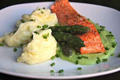 Pstruh lososovitý s brokolicovým pyré (od 1 roku) | Máma v kuchyni