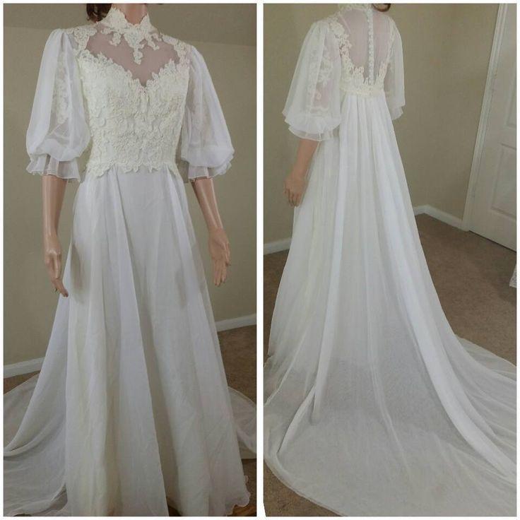 193 Best 1980s Vintage Bridal Images On Pinterest