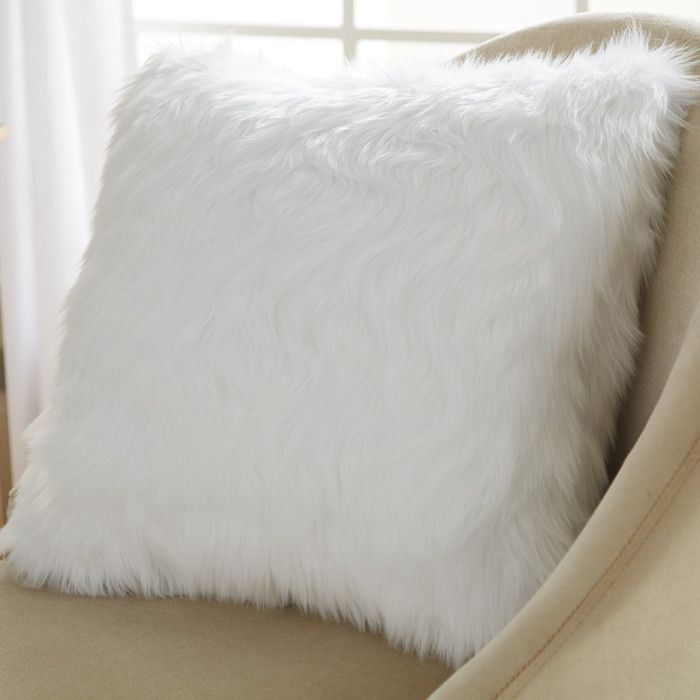 You'll love the Belton Faux Fur Throw Pillow at Wayfair - Great Deals on all Bed & Bath  products with Free Shipping on most stuff, even the big stuff.