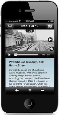 Powerhouse Museum Walking Tours