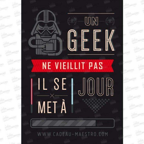 Joyeux Anniversaire Geek Spaxdesign