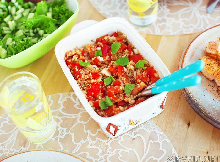 Tomatsalat med quinoa