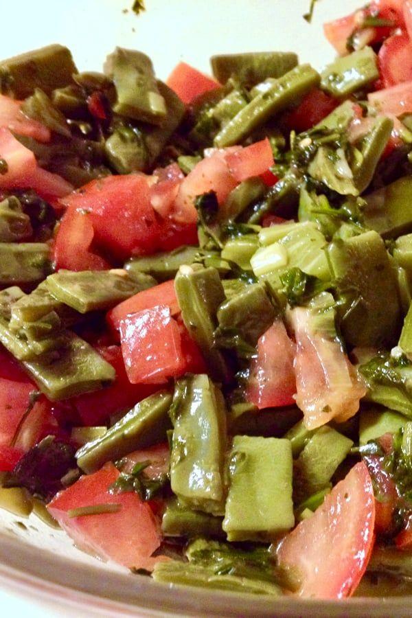 Authentic Mexican Cactus Leaves Salad Ensalada De Nopales