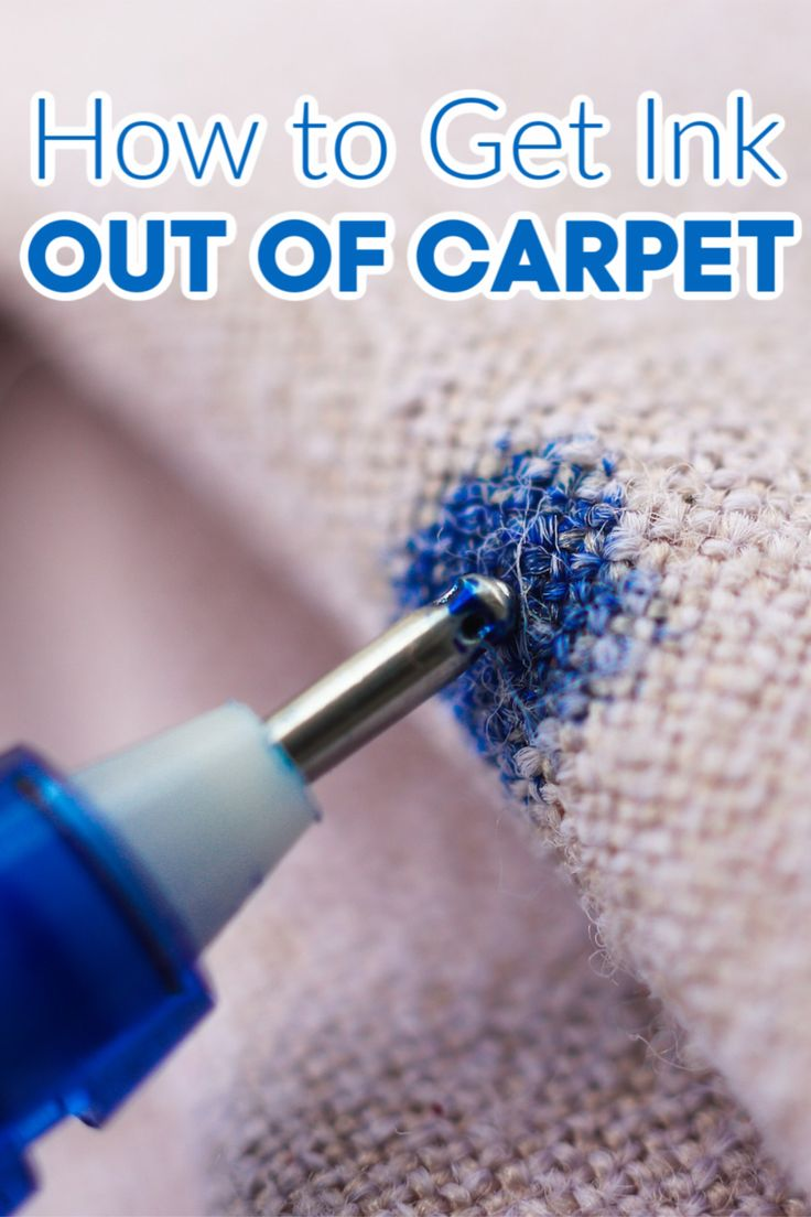 How to Get Ink Out of Carpet in 2020 (With images