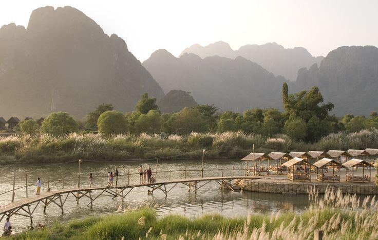 Vang Vieng in Laos.