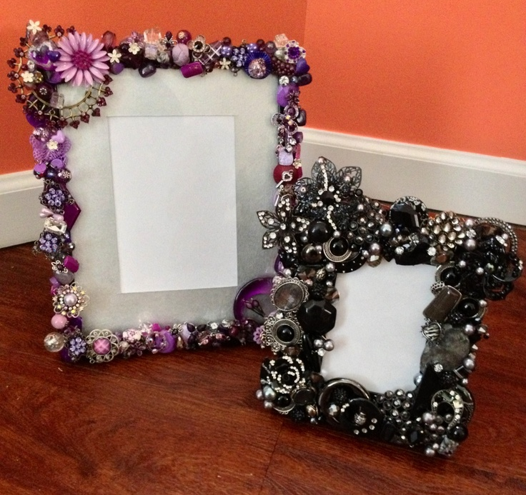 17 best images about gift ideas on pinterest peppermint for Handmade picture frame ideas