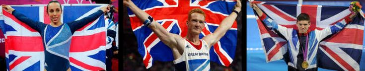 Olympians Switch On 2012 Illuminations
