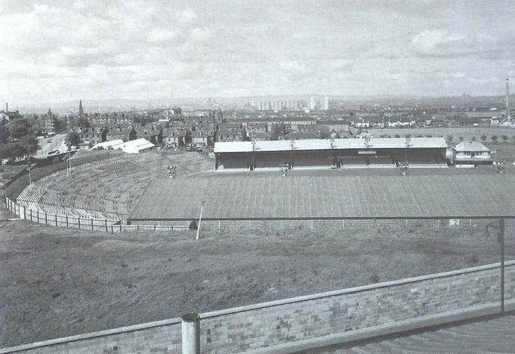 Cathkin Park. Home of Third Lanark football club . Sadly closed in 1967.