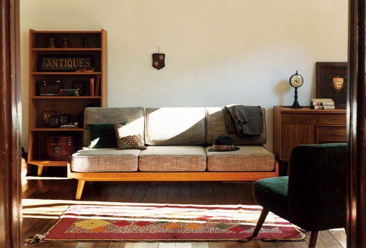 ALBERO(アルベロ) カバーリングソファ 3シーター   ≪unico≫オンラインショップ:家具/インテリア/ソファ/ラグ等の販売。