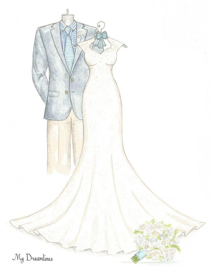 Wedding dress sketch pinterest flower girl dresses for Design your own wedding dress app
