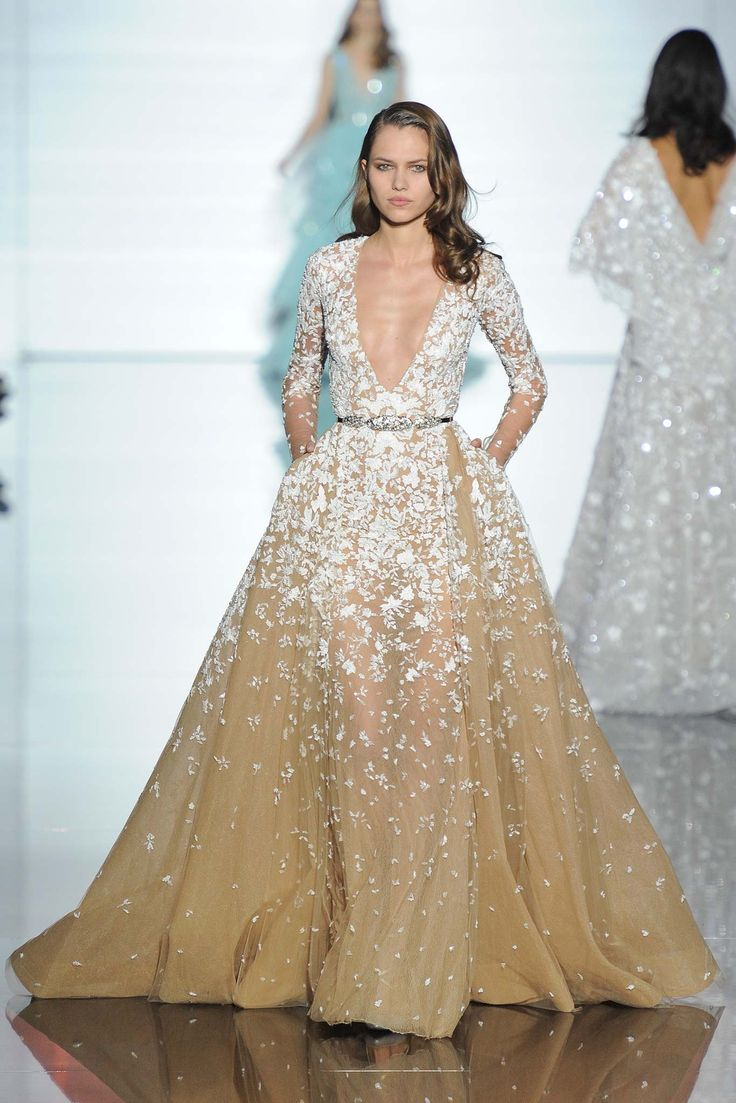 PHOTOS: Glamorous gowns from the Zuhair Murad Spring 2015 Couture Collection...
