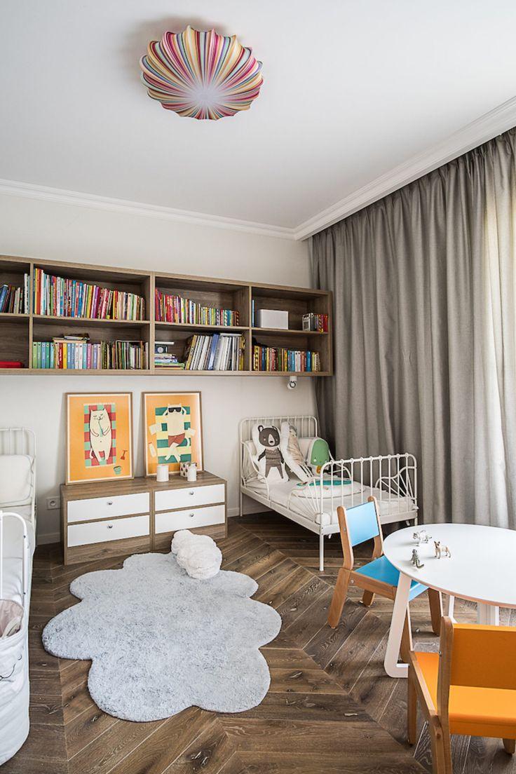 Sypialnia dzieci | tryc.pl  #kidsroom #children #interiors #forkids #interiors #homedesign #homedecor #home #projektowanie #warszawa #architekt #ładnewnetrze
