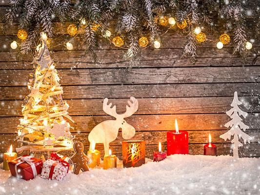 Buy discount Kate Christmas Photo Backdrop Snow Wooden Wall for Chlidren Photography – Katebackdrop
