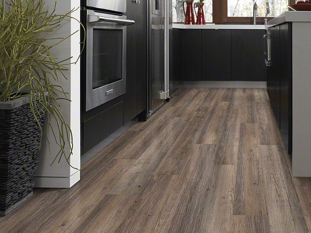Luxury Vinyl Plank - Resilient New Market 6 - 0145V - Breckenridge - Flooring by Shaw (For Basement)