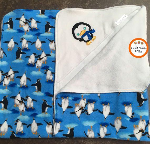 Large Baby Bath Wrap Towel Hooded Baby Towel by SweetCheeks4Kids