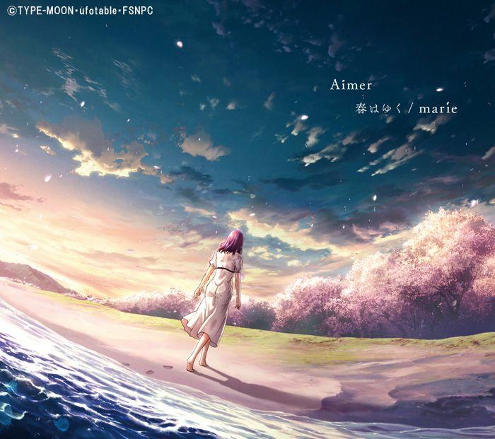 Aimer Haru Wa Yuku Fate Stay Night Heaven S Feel Iii Theme Song In 2020 Fate Stay Night Spring Song Theme Song