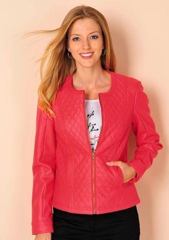 Bunda z umělé kůže #ModinoCZ #jacket #goodlooking #fashion #moda #trendy #bunda #kratkabunda #stylish #styl