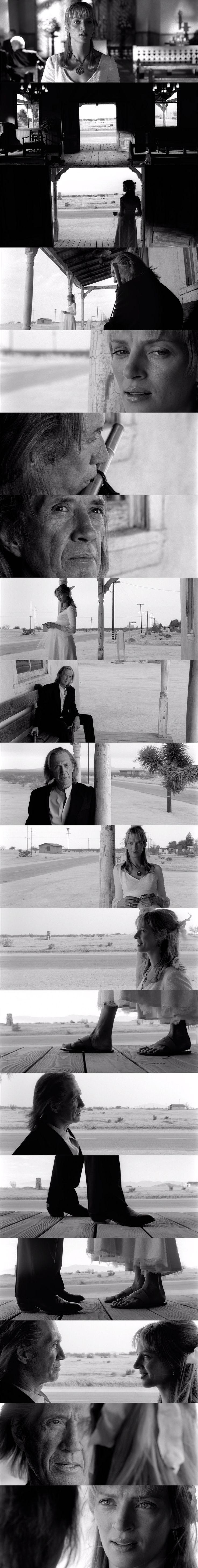Kill Bill v1,v2 (2003, 2004)   dir. Quentin Tarantino   dop. Robert Richardson