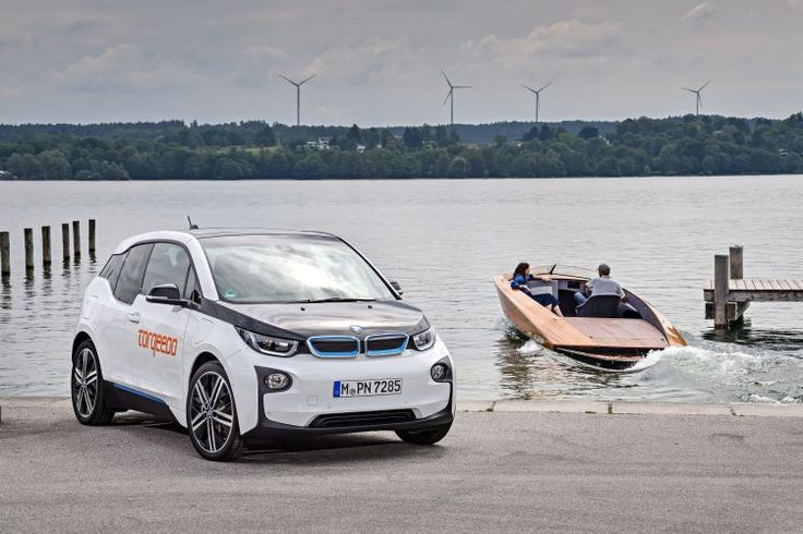 BMW i3 Batteries Powers Torqeedos Deep Blue Electric Boats  BMW i3 batteries for Torqeedo (electric marine propulsion systems)  BMWs batteries have found new application besides powering plug-in cars and energy storage systems. The German company Torqeedonow offers BMW batteries in its electric boats.  BMW i3 batteries for Torqeedo (electric marine propulsion systems)  The Torqeedohigh-performance Deep Blue electric drive systems uses a 33 kWh battery pack offered for $31999 plus shipping…