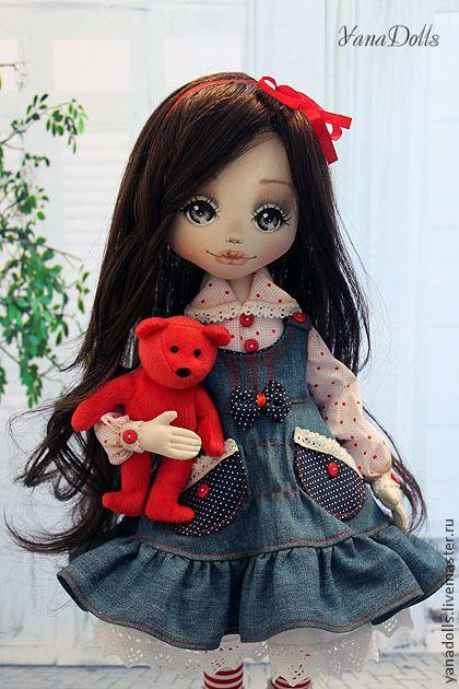Коллекционные куклы ручной работы. Ярмарка Мастеров - ручная работа Яся…
