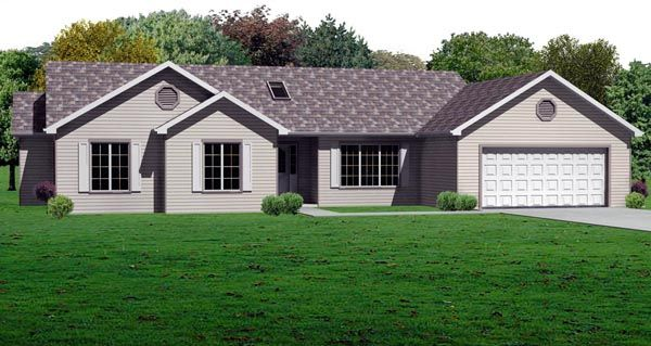Traditional   House Plan 70189