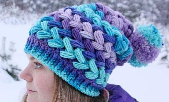 Braided Crochet Hat