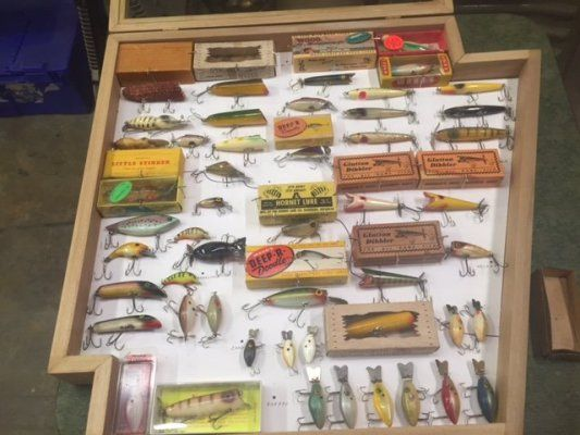 1942 best images about antique fishing tackle on pinterest for Fishing bait ark