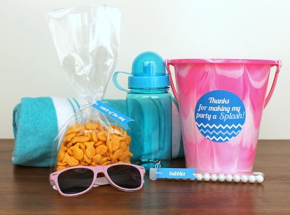 Kids' Pool Party Favors
