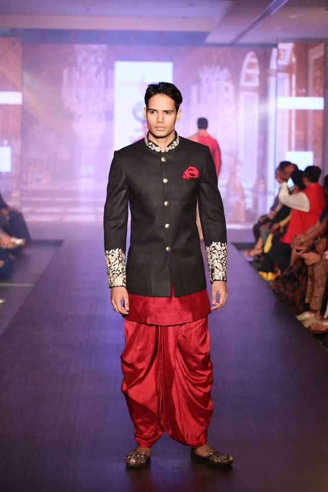 Black And Red Indian Wedding