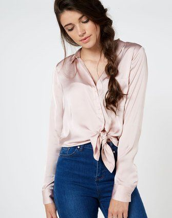 Silky Blouse Creole Pink