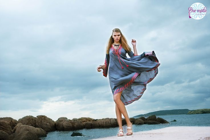 Kaftan Ferouze・Salt in the air Sand in my hair lookbook
