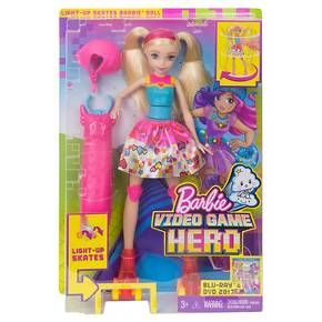 Barbie Video Game Hero Light-Up Skates Doll : Target>>>and other nationalistalties, Mexicans, & Brazilians,  are looking to extort money from a rich rock n roll band, such as Axl Rose of GNR.