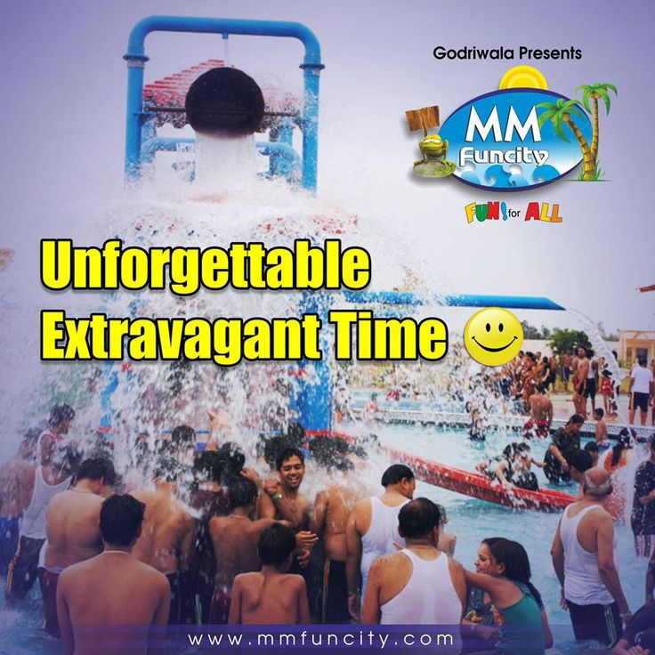 Come to #MMFunCity to have an unforgettable extravagant time with your family & friends and feel the monotony fade away with #rides & #slides. #Waterpark #Fun
