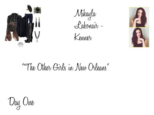 """Mikayla Labonair-Kenner Worlds Colliding (The Originals) 3.08 ""The Other Girls in New Orleans"""" by mysticfalls1997 ❤ liked on Polyvore featuring Maison Margiela, AG Adriano Goldschmied, Ally Fashion, Philosophy di Alberta Ferretti, Amrita Singh, Kenneth Jay Lane, Betty Jackson. Black and Kobelli"