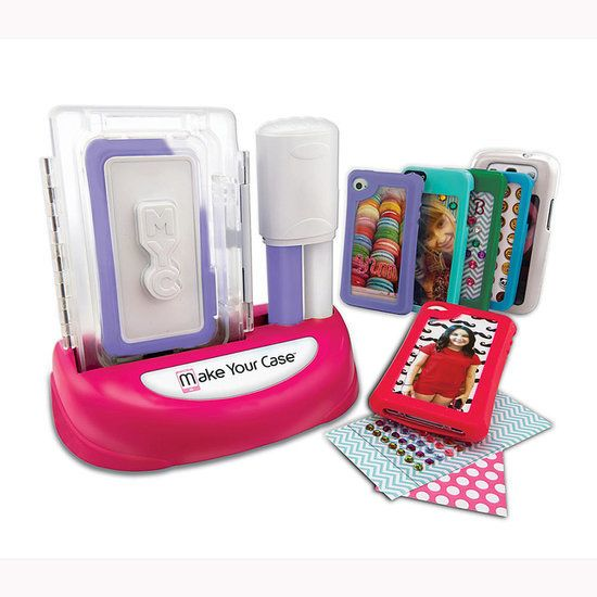 Make Your Case Case Maker: Kids can customize their own iPod and phone cases with the Make Your Case Case Maker ($25).