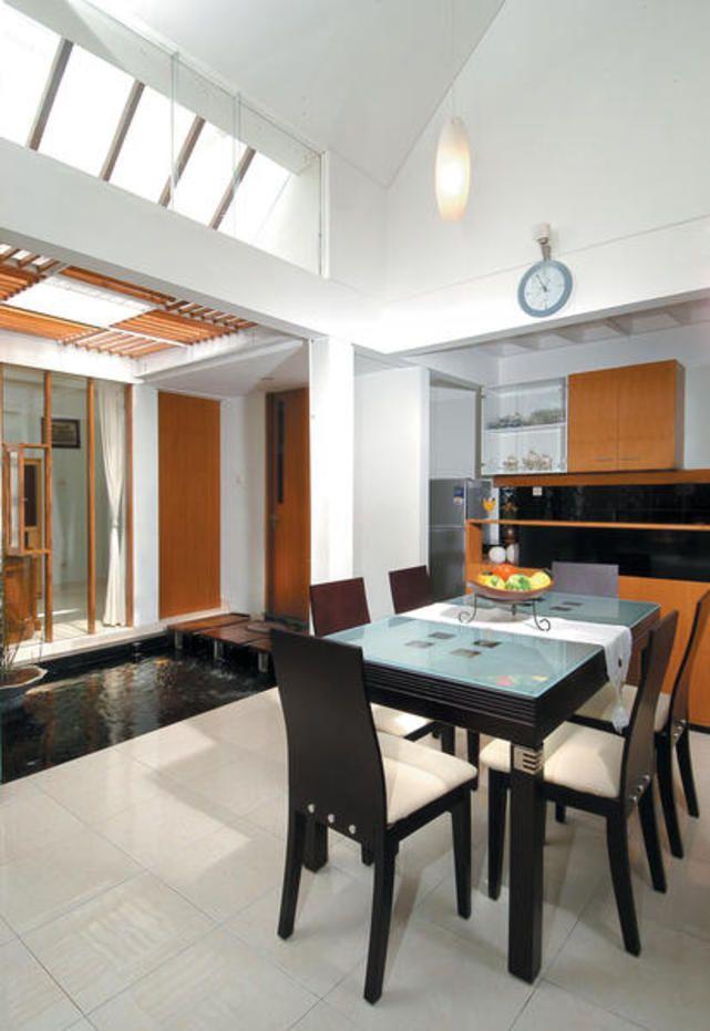 Ruang makan View Kolam Ikan / Ruang Makan / Interior / iDEA2013 / Gramedia Majalah - iDEA Online - Segalanya tentang rumah